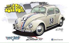Beetle Car, Volkswagen Group, Vw Cars, Walt Disney Company, Vw Beetles, My Life, Dreams, Type 3, Hot Rods