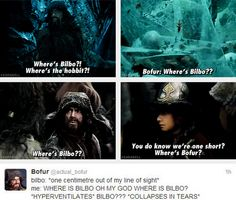 Bofur has to be one of my favorite dwarfs. He is so sweet
