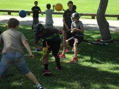 The X-treme Challenge campers are having a blast this morning! http://www.coloradoacademysummer.org/