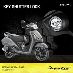 Stay Safe and Secure with the Key Shutter Lock on the TVS Jupiter!