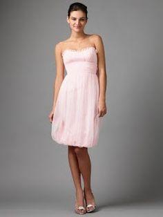 One of my fav new dresses ... Vera Wang Tulle Overlay Strapless Dress in Blossom