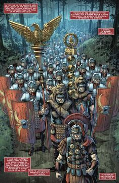 Britannia: Lost Eagles of Rome Issue - Read Britannia: Lost Eagles of Rome Issue comic online in high quality Military Art, Military History, Ancient Rome, Ancient History, Imperial Legion, Roman Armor, Roman Warriors, Roman Legion, Roman Britain