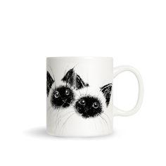 Siamese Kittens by Priscilla Moore. #hellosunday