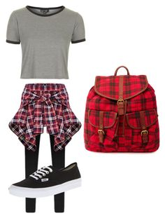 """""""Set#136"""" by anneclo2 on Polyvore featuring Topshop, Vans, Charlotte Russe, women's clothing, women, female, woman, misses and juniors"""