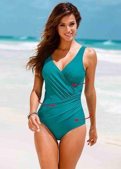 5e49f45ca1 NAKIAEOI 2017 New One Piece Swimsuit Women Plus Size Swimwear Retro Vintage  Bathing Suits Beachwear Print