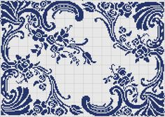 Doily 15 | gancedo.eu....This would be pretty with an initial in the lower left corner...