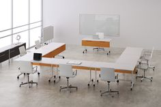#Conference #TrainingTables #BenchWorx #TeamWorx #officefurniture #desking #benching #casegoods #interiors #design #contemporary #commercialdecor #officedecor #modern #table #westcoast #eurostyle #sleek #office #interiordesign #inspiration #Chicago #california #data #access #DeskMakers #officeenvironment #productivity #customized #custom #openfloorplan