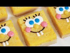▶ SPONGEBOB LEMON BARS - NERDY NUMMIES - YouTube ,dear rosanna can you please make spongebob squarepants cookies