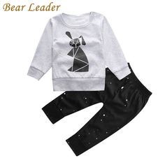Bear Leader Baby Boys Clothing Sets Autumn Baby Clothes Rabbit Printing T-shirt+pants Baby clothing set Long Sleeve Baby Set  #Baby #BabyClothes #NewbornDress #Newborn #BabyShoes #BabyGirl #BabyStores #InfantClothes #BabyBoyClothing #BabyDress