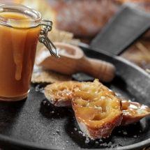 Ma recette du jour : Caramel beurre salé sur Recettes.net