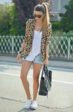 Animal Print... Short or Jeans
