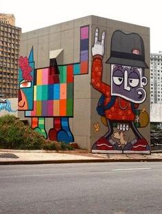 Street art by Minhau (Brazil)