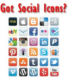 Social media icons are abundant, but every time I design a new website I wind up needing to find a new set or a different size to add to the design. Over the past few years as a web designer I have...