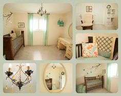 The nursery is complete.  Just waiting for baby :)