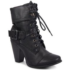 cb4708229f4df0 New Ladies Low High Heel Army Military Biker Ankle Long Boots  Amazon.co.uk   Shoes   Bags