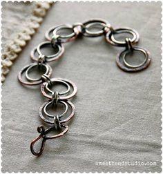 Cindy Wimmer, Easy Wire 2012 -- Forever Link bracelet