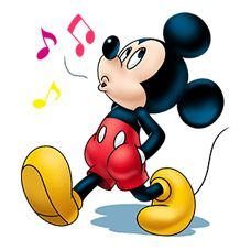 Mickey Mouse: Lovely Smile - Stickers oficiais