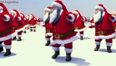 Santa Claus Dancing [Merry Christmas and Happy new year 2018]