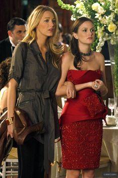 Gossip Girl Season 3. Serena van der Woodsen, Blair Waldorf.
