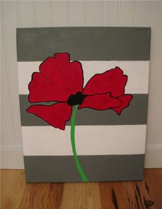 simple canvas painting ideas   What you'll need: