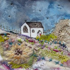 'Early in the morning' by Louise O'Hara of DrawntoStitch https://www.facebook.com/DrawntoStitch