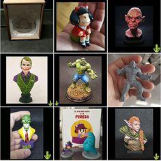 Anet A8, Totoro, Hulk, Fallout Vault, 3 D, Joker, Painting, Fictional Characters, Instagram