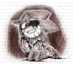 .Sonic.exe.doodle. by andreahedgehog on deviantART