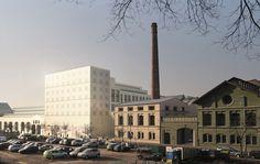 Ricardo Bofill Taller de Arquitectura -  Karlin Event Hall in Prague, Czech Republic