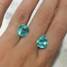 morning #turmalinaparaiba lovers! #gem #jewelryaddict #blue
