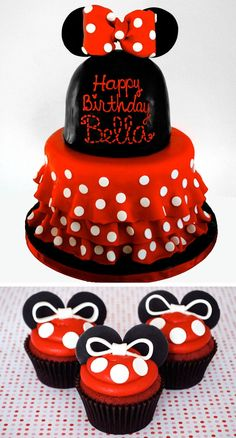 ... on Pinterest  Minnie Mouse Cake, Minnie Mouse and Minnie Mouse Party
