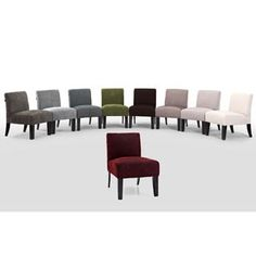 Shop for Deco Solids Accent Chair. Get free shipping at Overstock.com - Your Online Furniture Outlet Store! Get 5% in rewards with Club O!