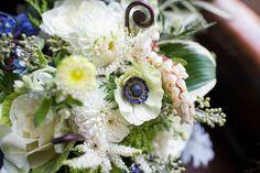 White Rustic Bridal Bouquet