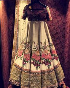 Sabyasachis new store Delhi Indian Lehenga, Indian Gowns, Indian Attire, Indian Wear, Indian Outfits, Indian Wedding Wear, Indian Bridal, Bridal Outfits, Bridal Dresses