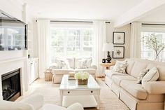 29 Perfect Farmhouse Living Room Lighting Ideas Decor And Design. If you are looking for Farmhouse Living Room Lighting Ideas Decor And Design, You come to the right place. Beige Living Rooms, Living Room White, White Rooms, Living Room Paint, New Living Room, Living Room Furniture, Rustic Furniture, Modern Furniture, Cream Living Room Decor