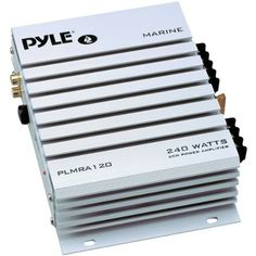PYLE PLMRA120 240-Watt 2-Channel Waterproof Marine/Car Amplifier by Pyle. $32.18. Amazon.com                 This Pyle Hydra amp will power your speakers on the dock, in your boat, or by the pool--it's completely waterproof. This 2-channel, 240-watt marine amp takes both high- and low-level inputs, so it's compatible with a variety of head units and sources. Remote turn/on off makes controlling the amp a breeze, and gold-plated RCA inputs mean it won't be a we...