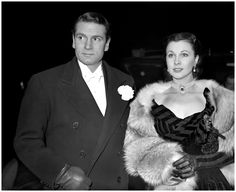 Sir Laurence Olivier and wife Lady Olivier (Vivien Leigh)