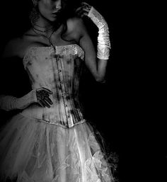 dark photography tumblr   ... scary Black and White white dress dark photography wickedseductive