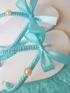 Tiffany flip flops
