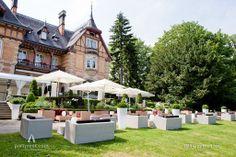 Zu Gast in der Villa Rothschild Kempinski  #Outdoor #Lounge #Event #Garten