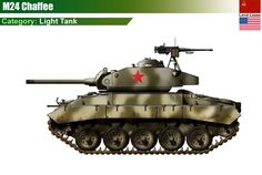 US M24 Chaffee Light Tank