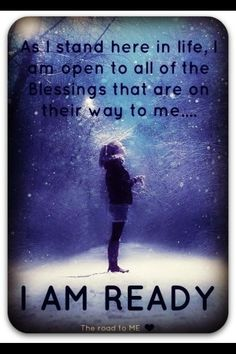 I am open to...