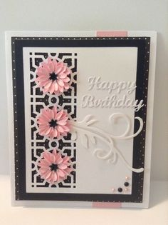 Hand made card. My daisy die cut in another color.