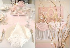 I love everything about this. Perfect for a spring birthday, wedding or baby shower!