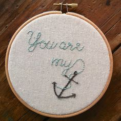 anchor PDF embroidery pattern.