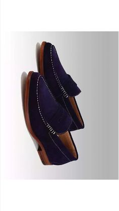 Unknown brand of purple pleasure!  Penny loafers are a staple for any man's closet.GFA