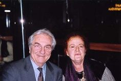 Paola Meneghetti con Gualtiero Marchesi