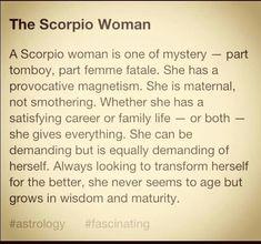 Scorpio women are the best