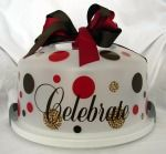 Cake carriers by Gussied Up Gifts