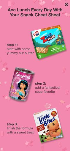 Your easy A+ inspiration for school-day snacks