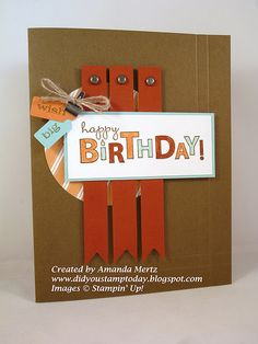 by Amanda Mertz ... Did You Stamp Today?  Stampin' Up! SU